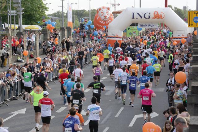 Hotelschoul goes ING – Night Marathon