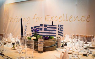 Soirée grecque, un avant goût du voyage d'études