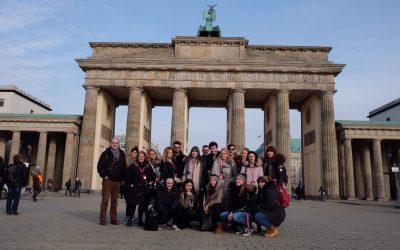 Les élèves découvrent Berlin et l'ITB