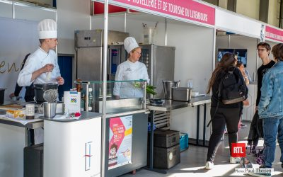 EHTL se présente lors du concours LUXSKILLS au SNFCP à Esch-sur-Alzette