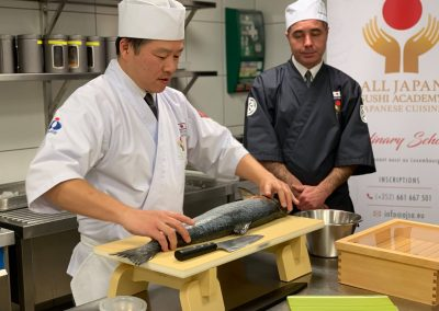 EHTL All Japan Sushi Academy Cours (1)