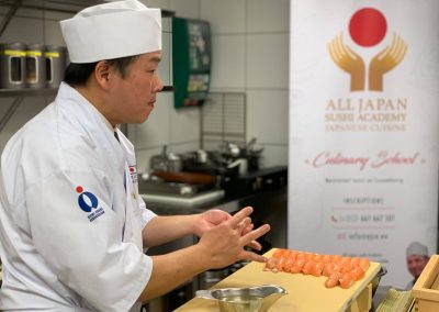 EHTL All Japan Sushi Academy Cours (11)