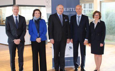 Visite de l'ambassadeur tchèque à l'EHTL
