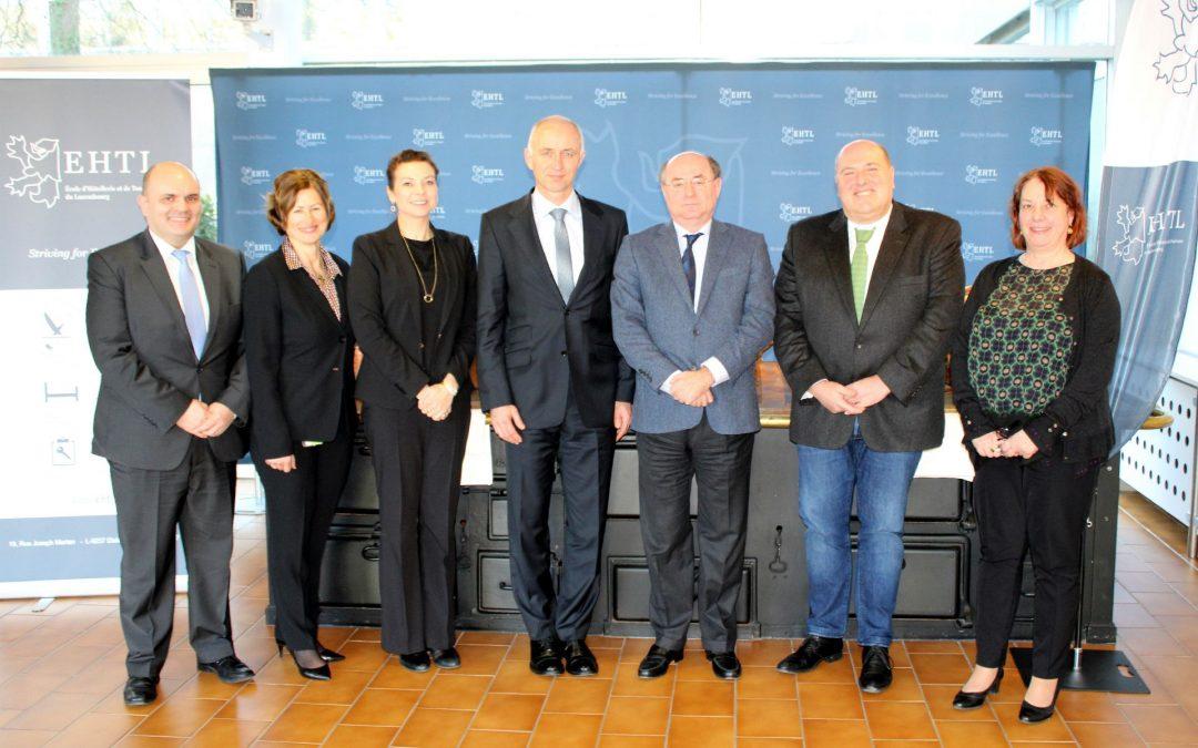 Rencontre avec l'ambassadeur du Portugal au Luxembourg
