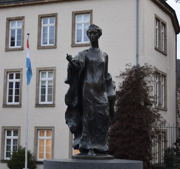 Visite guidée de la ville de Luxembourg par les techniciens en tourisme