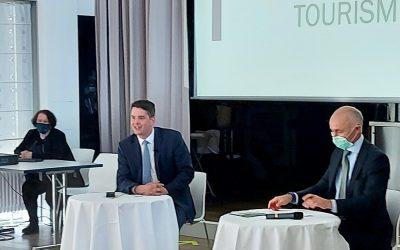 Le ministre du Tourisme rencontre les futurs professionnels à l'EHTL