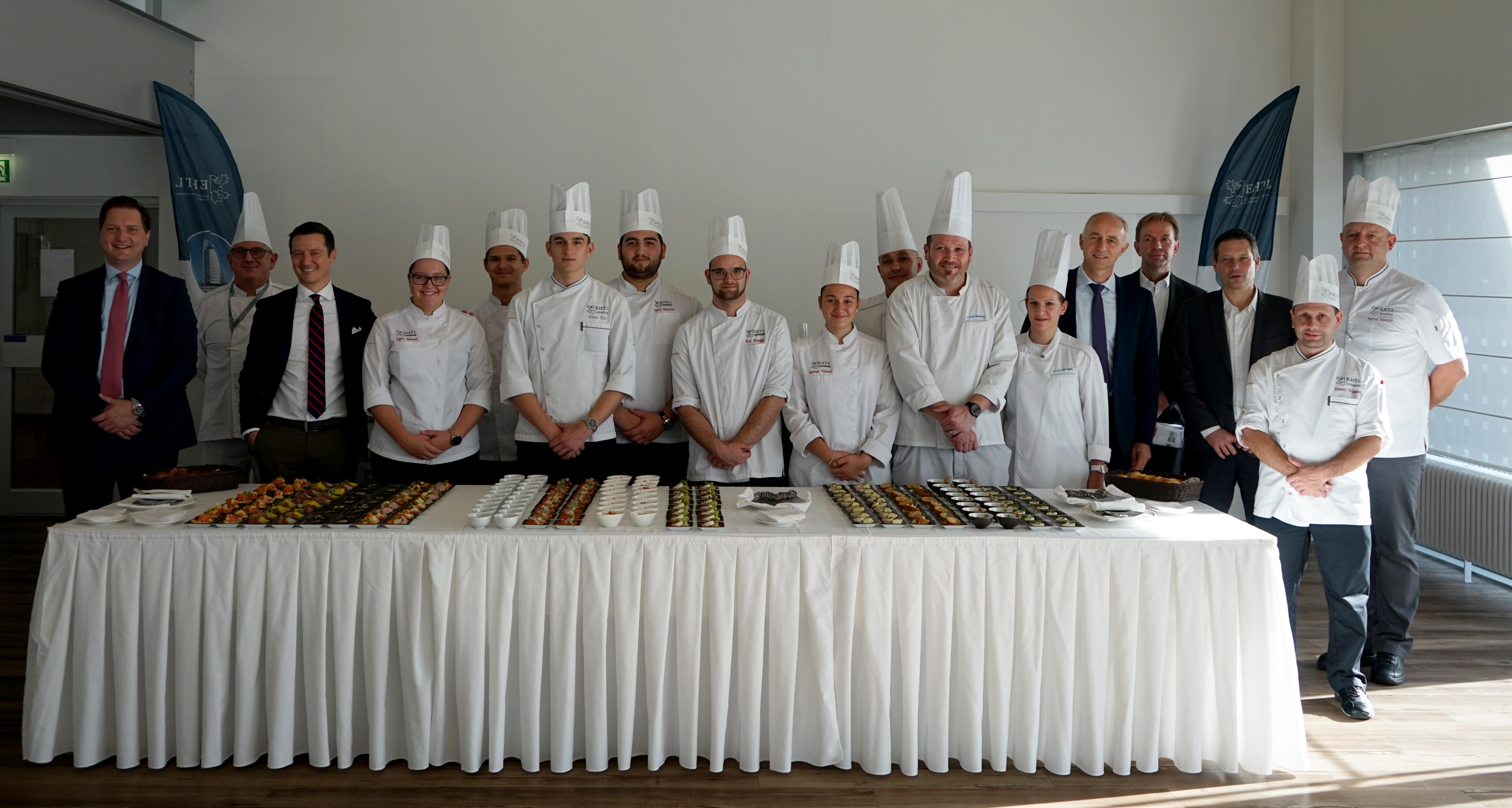 Luxair is renewing its Business Class menus, in collaboration with the École d'Hôtellerie et de Tourisme du Luxembourg